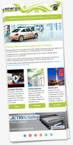 Newsletter Sinergia Visual