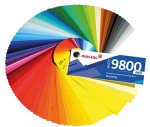 Gama de colores MACal 9800