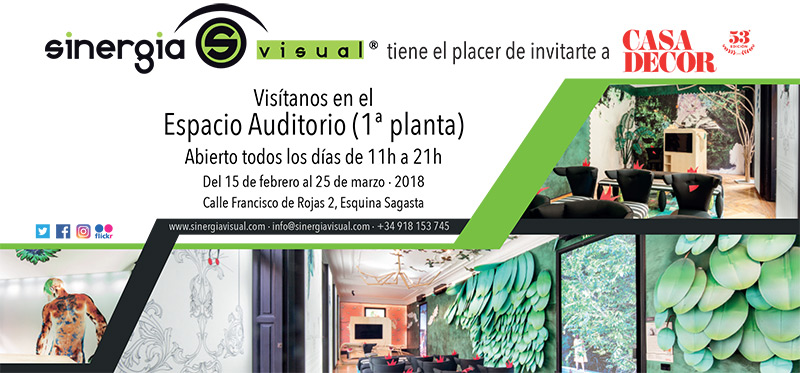 Invitación CasaDecor