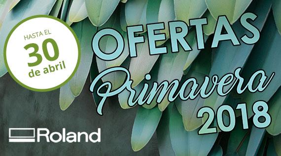 Ofertas Primavera 2018 Roland-slider