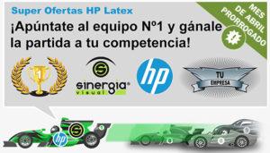 Ofertas HP Latex abril