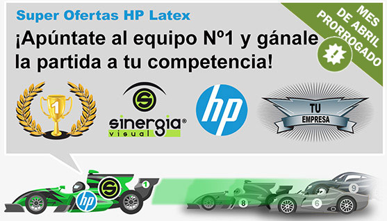Ofertas HP Latex abril