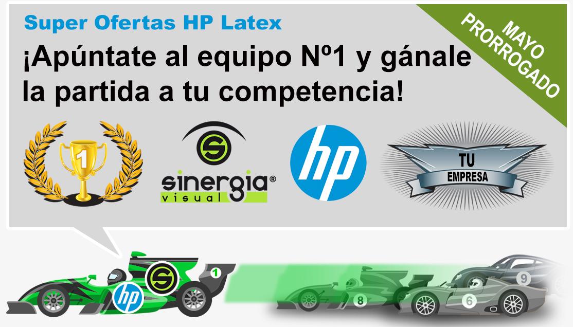 Ofertas HP Latex Mayo 2018